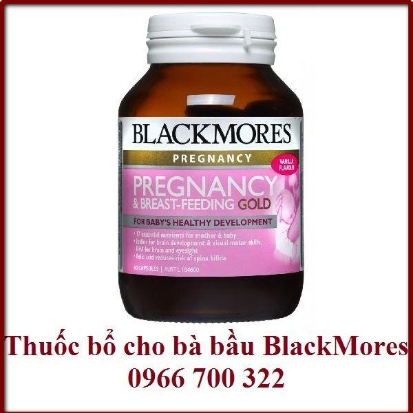 thuốc bổ cho bà bầu blackmores